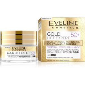 Luxusni multi vyzivny krem serum 50 GOLD LIFT EXPERT