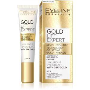 Luxusni zlaty krem na oci a vicka GOLD LIFT EXPERT