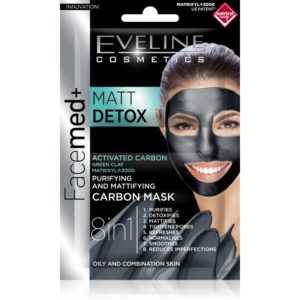 595 thickbox default Eveline Facemed Matt Detox maska