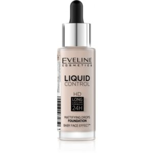 Eveline Liquid Control HD – make up s kapatkem 005 IVORY