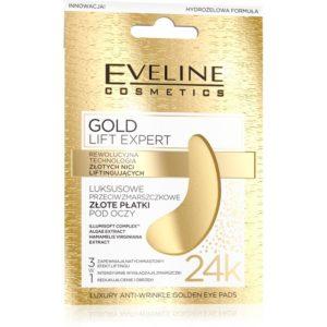 628 thickbox default Eveline Luxusni zlate polstarky pod oci