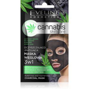 731 thickbox default Eveline Cistici a matujici pletova maska s aktivnim uhlim Cannabis