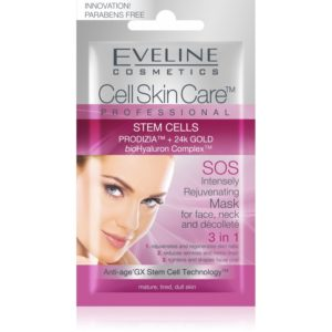 759 thickbox default Eveline Intenzivne omlazujici maska na oblicej krk a dekolt 3v1 Cell Skin Care